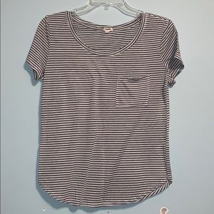 Garage striped t shirt